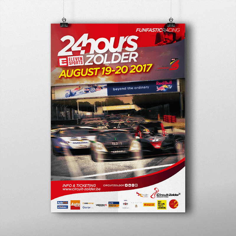 Circuit Zolder: Affiche 24 hours